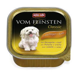 ANIMONDA Vom Feinsten Classic su paukštiena ir veršiena