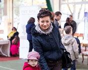 Parodoje apsilankė Rūta Lukosevičiūtė su dukra