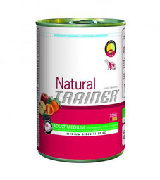 TRAINER NATURAL Adult Medium Beef-Rise-Ginseng