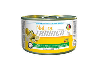 TRAINER NATURAL Adult Mini Beef-Rise-Ginseng