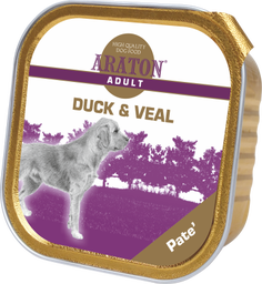 ARATON Duck and Veal paštetas