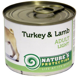 NATURE'S PROTECTION Adult Light Turkey & Lamb