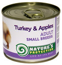 NATURE'S PROTECTION Small Breeds Turkey & Apples