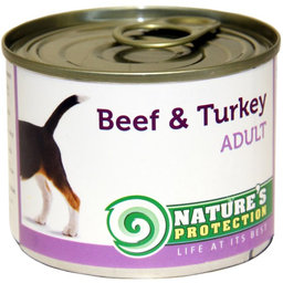 NATURE'S PROTECTION Adult Beef & Turkey