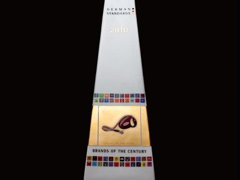 Apdovanojimas `Šimtmečio prekinis ženklas`