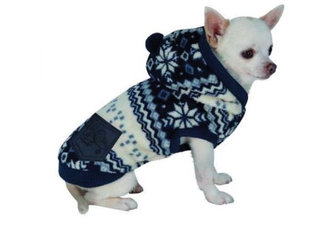 CROCI Flake pašiltintas megztinis su kapišonu