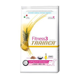 TRAINER FITNESS3 Junior Medium & Maxi Duck Rice Oil