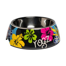 ROGZ Bubble Bowl DayGlo Floral