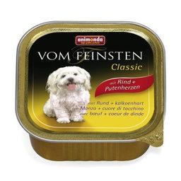 ANIMONDA Vom Feinsten Classic su jautiena ir kalakuto širdimis